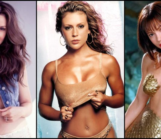 49 Sexy Alyssa Milano Boobs Pictures Expose Her Sexy Hour-glass Figure