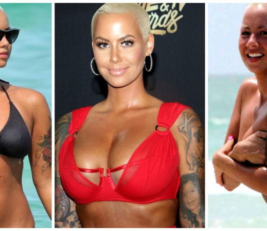 49 Sexy Amber Rose Boobs Pictures Which Prove She Is The Sexiest Woman On The Planet