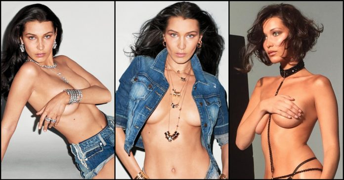 49 Sexy Bella Hadid Boobs Pictures Are Really Amazing