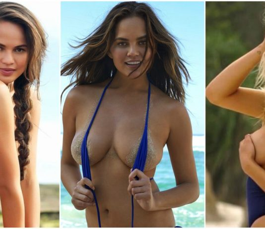 49 Sexy Chrissy Teigen Boobs Pictures Which Will Make You Her Biggest Fan