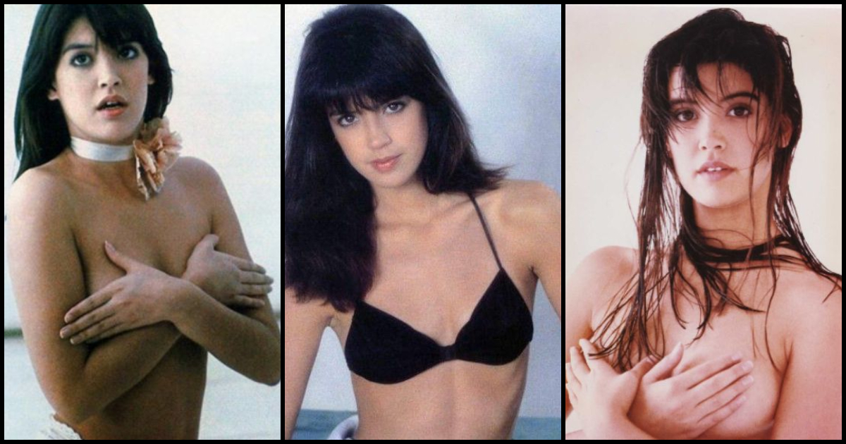 Phoebe cates shows her boobs