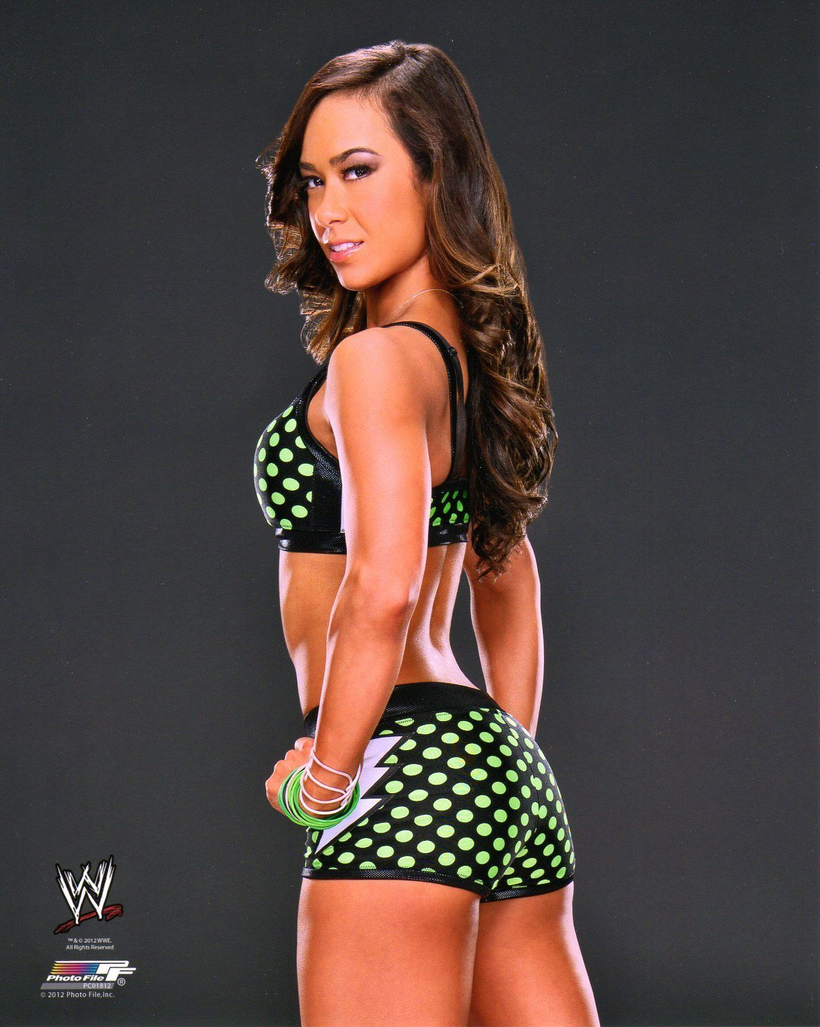 AJ Lee awesome booty