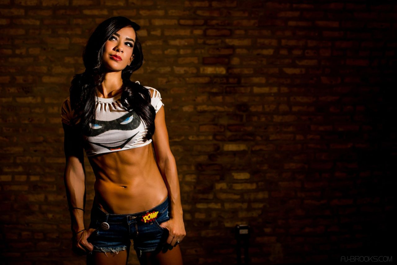 AJ Lee awesome pic (2)
