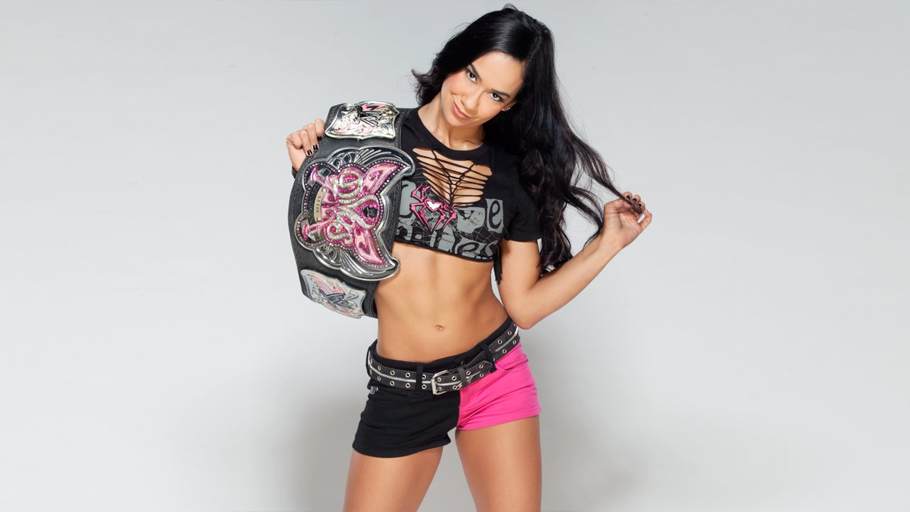 AJ Lee awesome thighs