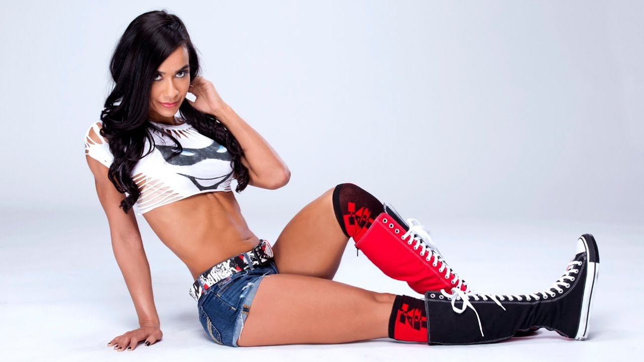AJ Lee hot legs