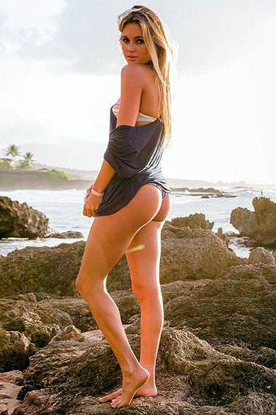 Alana Blanchard ass awesome sexy
