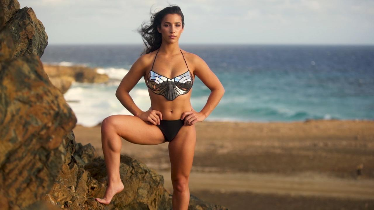 Aly Raisman hot bikini