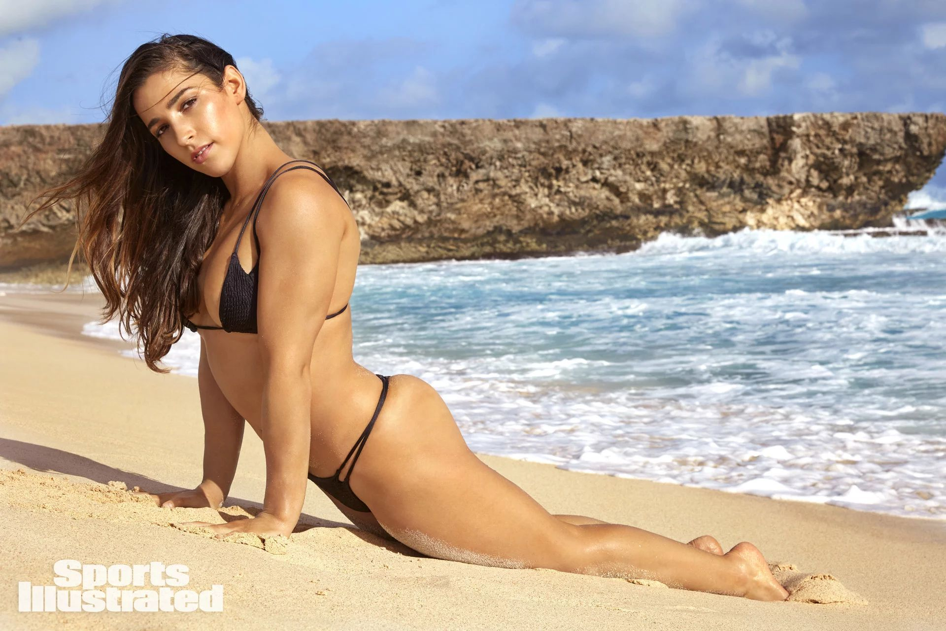 Aly Raisman hot in beach