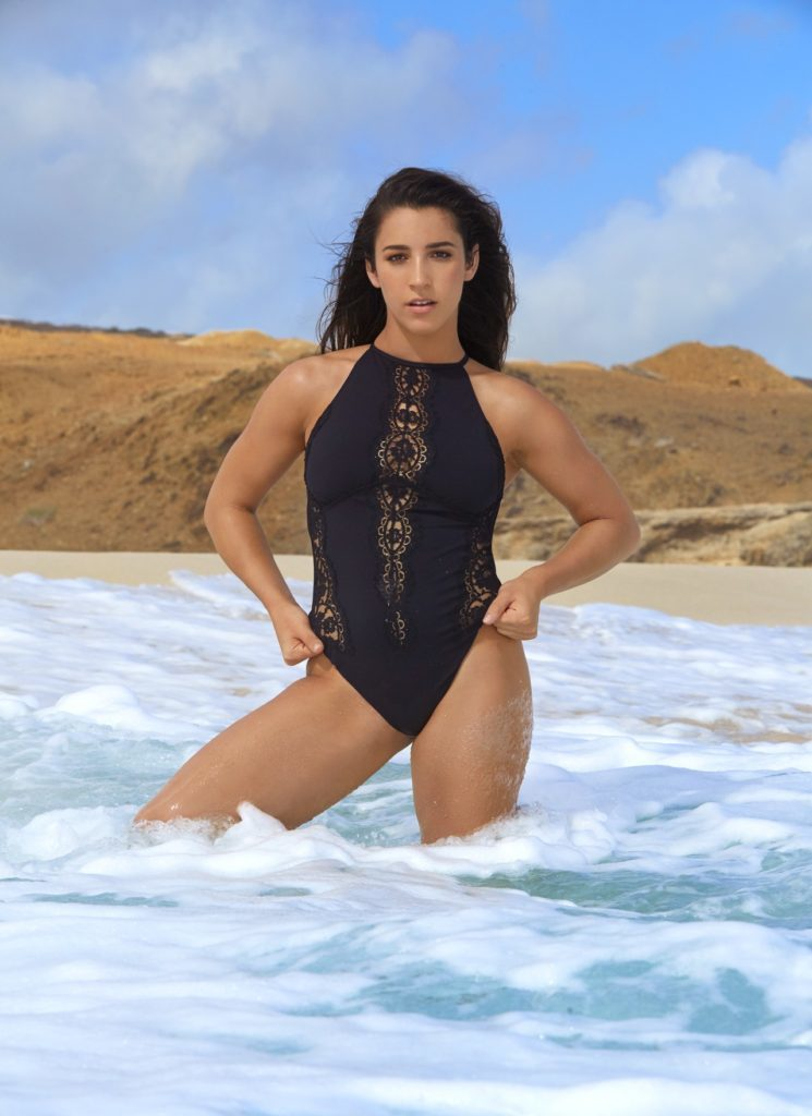 Aly Raisman hot swimwear pic