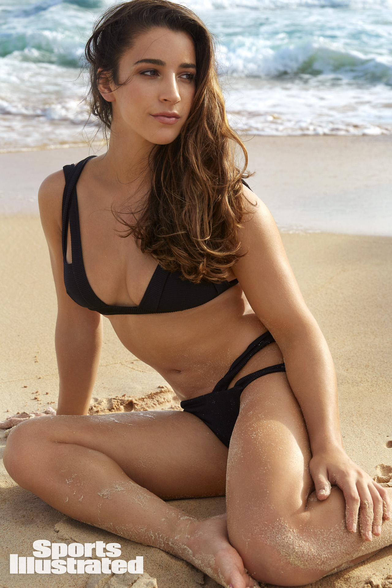 Aly Raisman hot swimwear