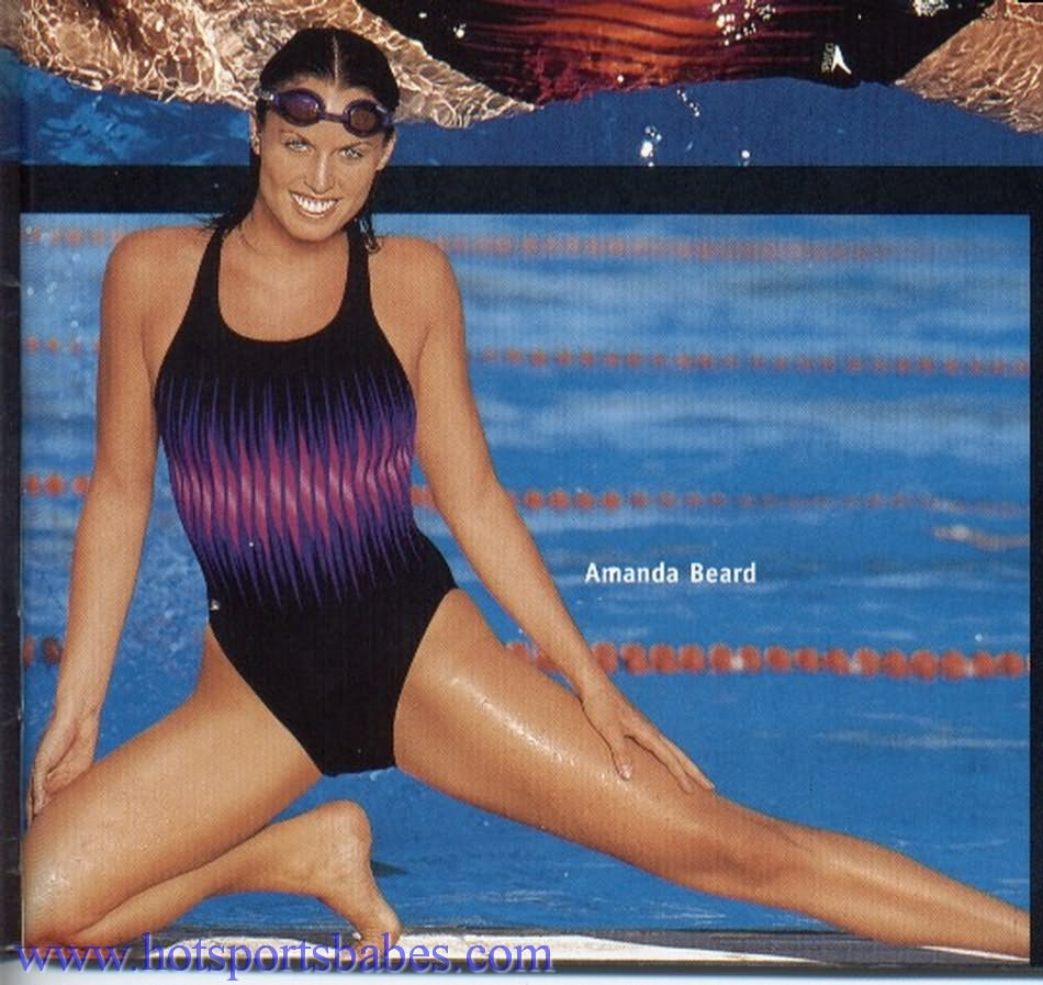 Amanda Beard on Swimming Costume