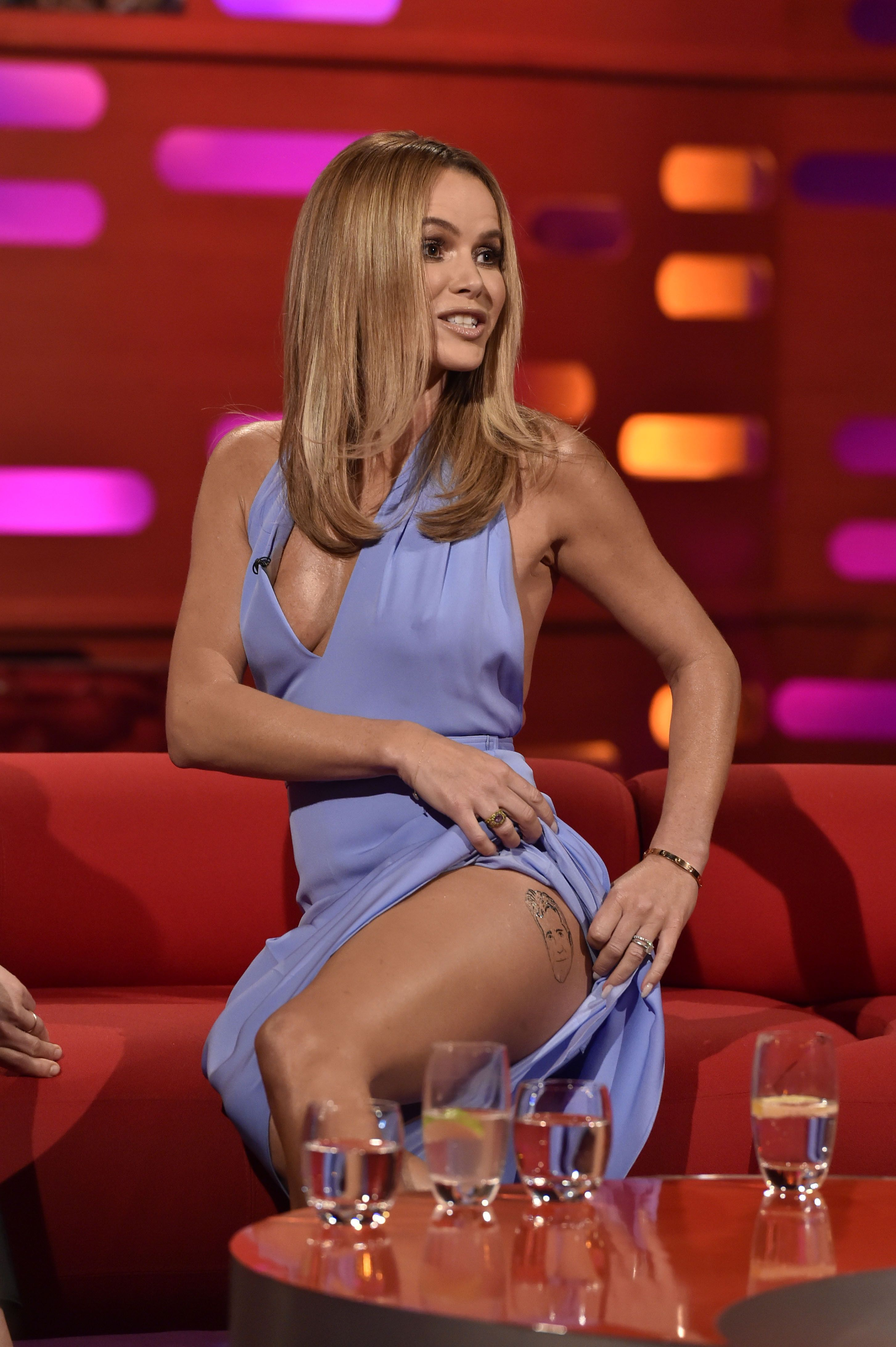 Amanda Holden Tits 49 hot pictures of amanda holden are too damn appealing
