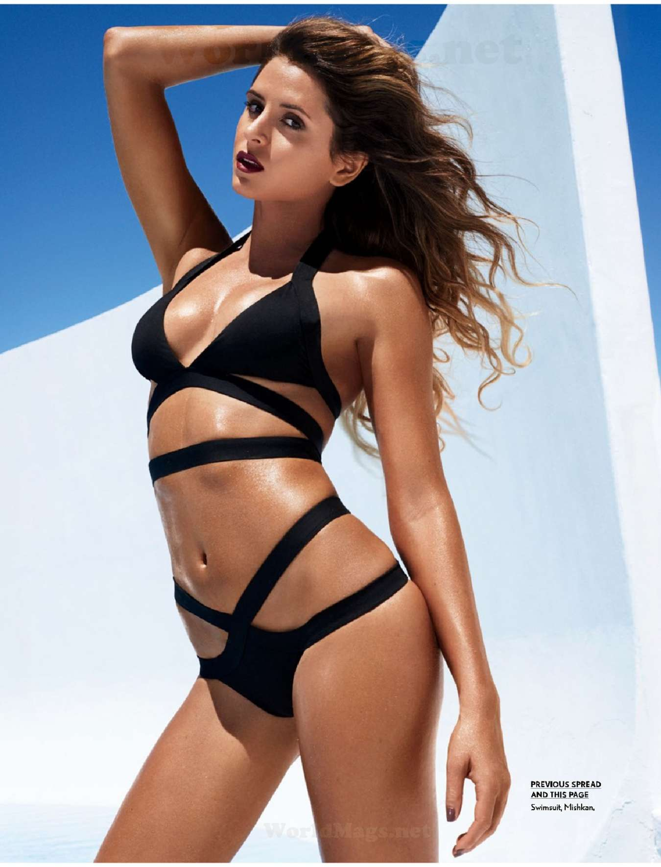 Anastasia Ashley Hot in Black Bikini