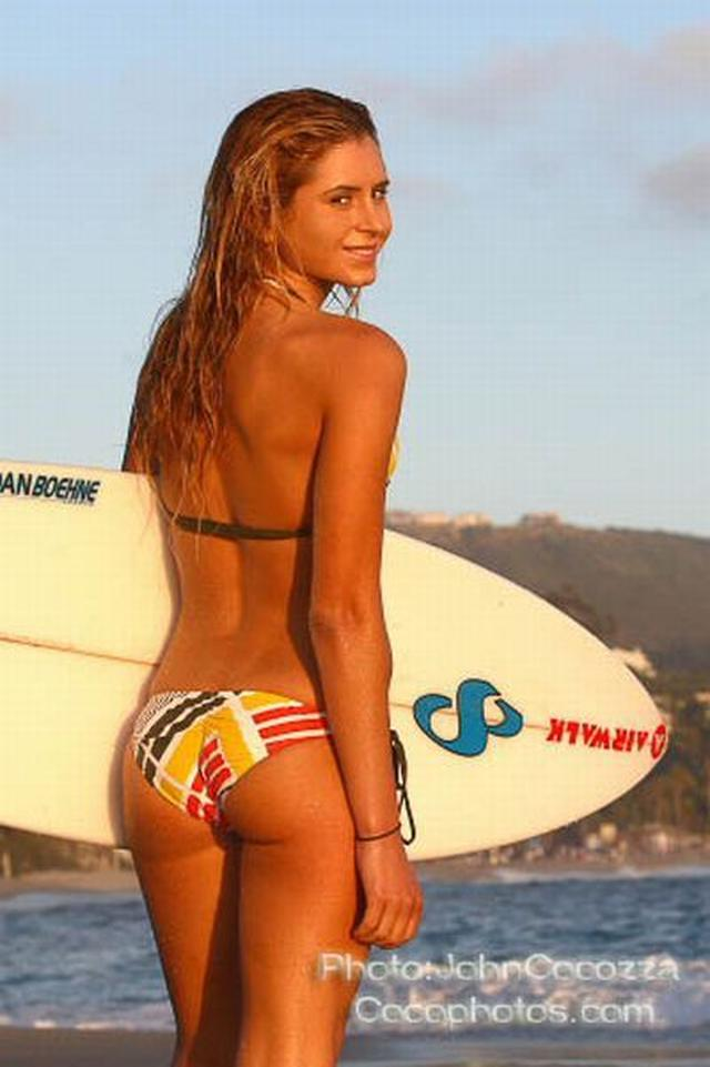Anastasia Ashley on Surfing
