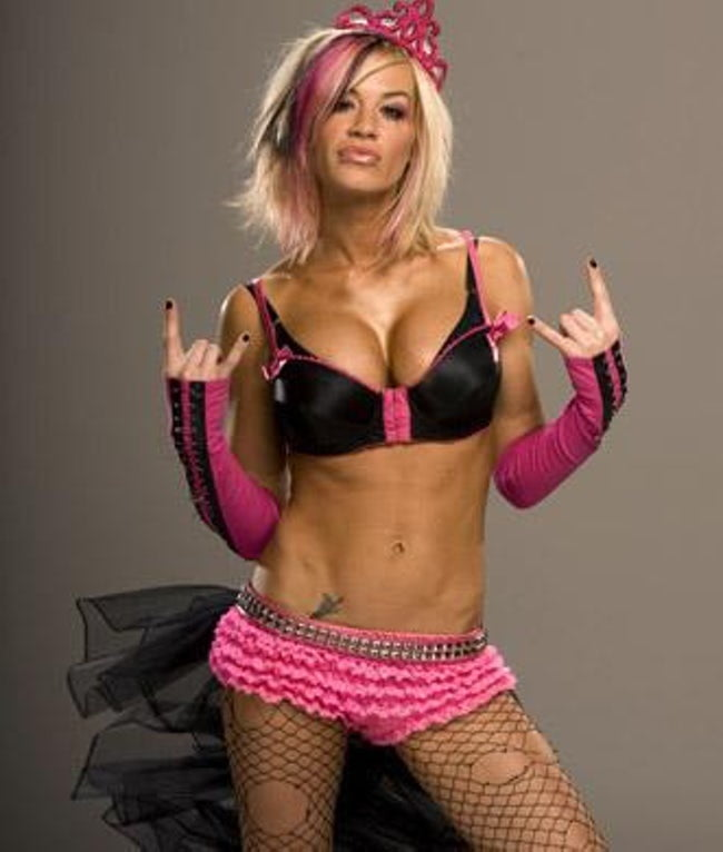 Ashley Massaro Sexy Boobs Pictures