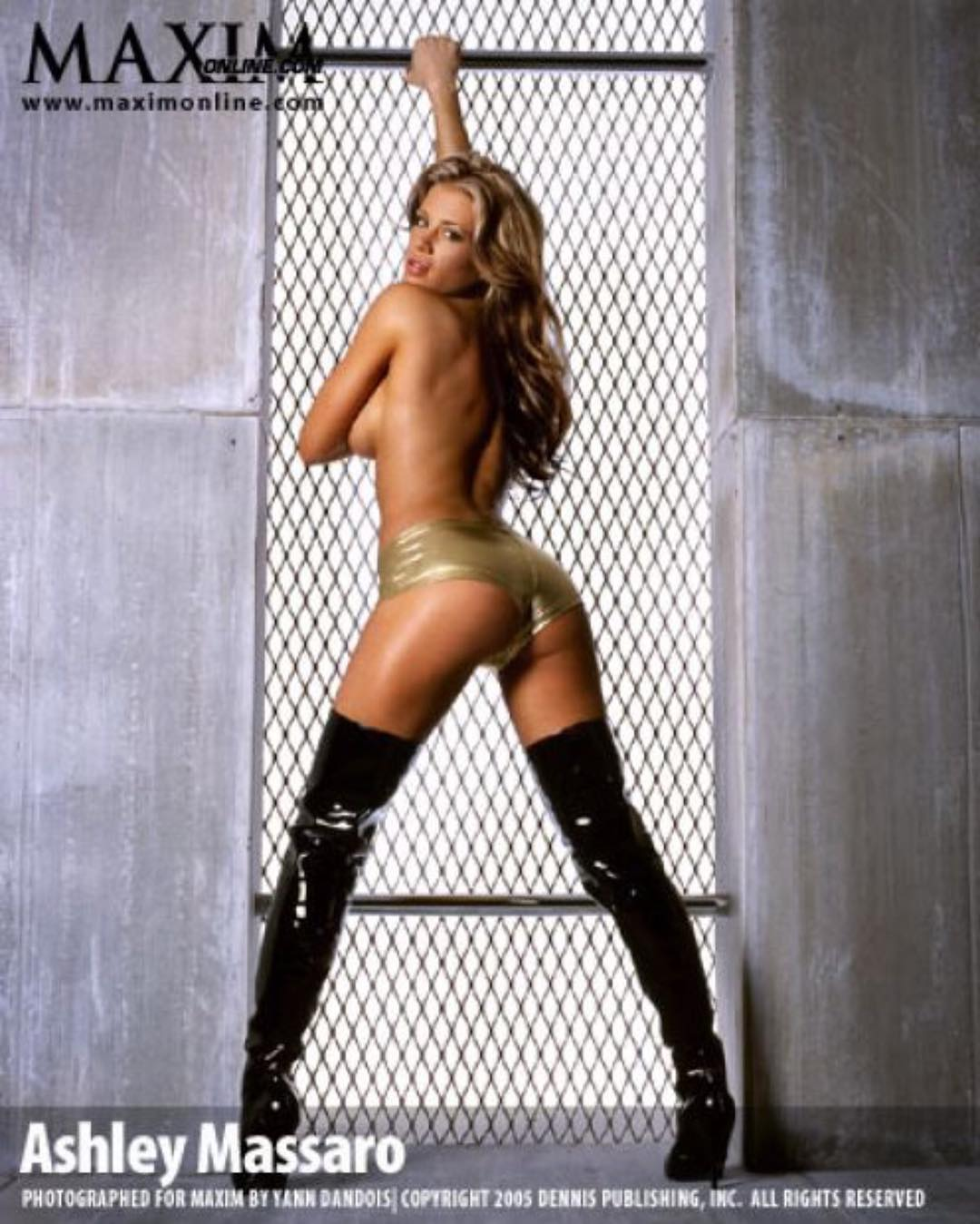 Ashley Massaro Topless