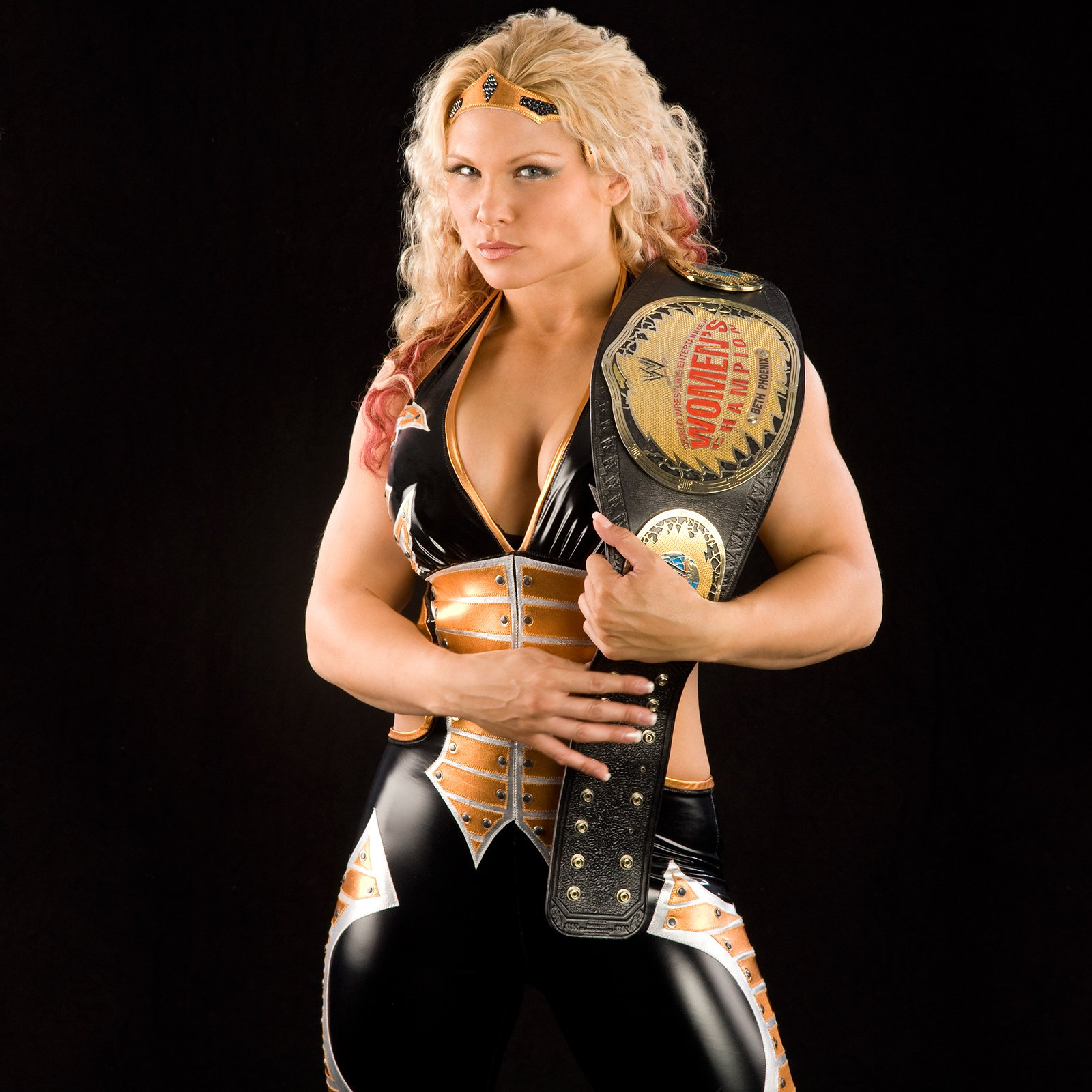 Beth Phoenix hot cleavage