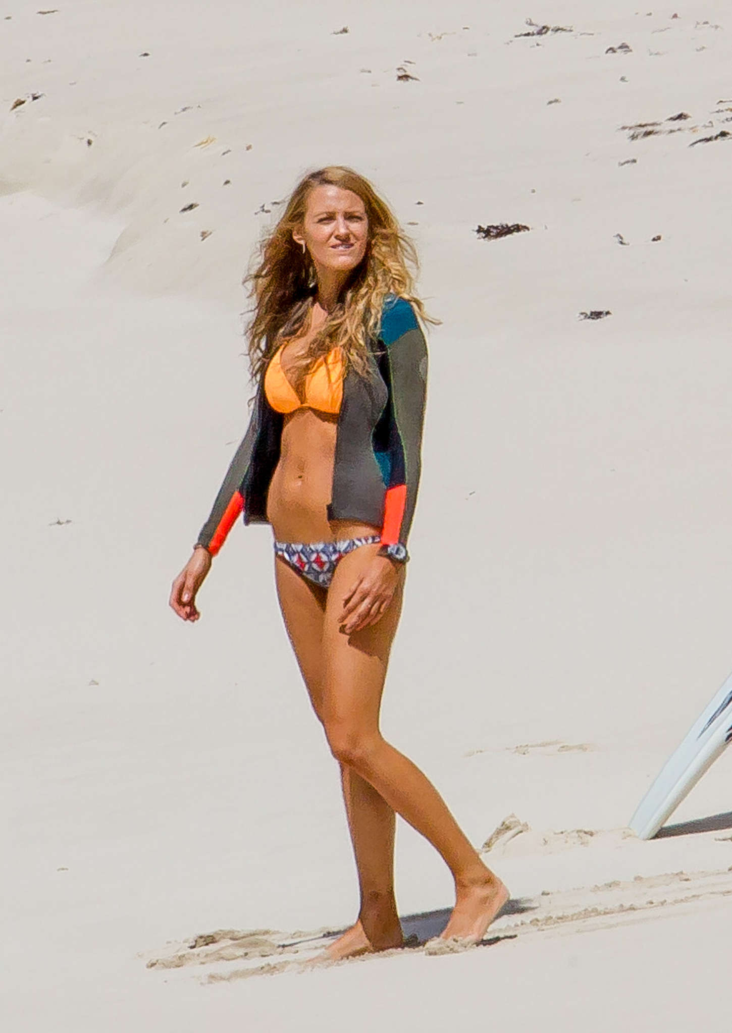 Blake Lively sexy beach bikini photo