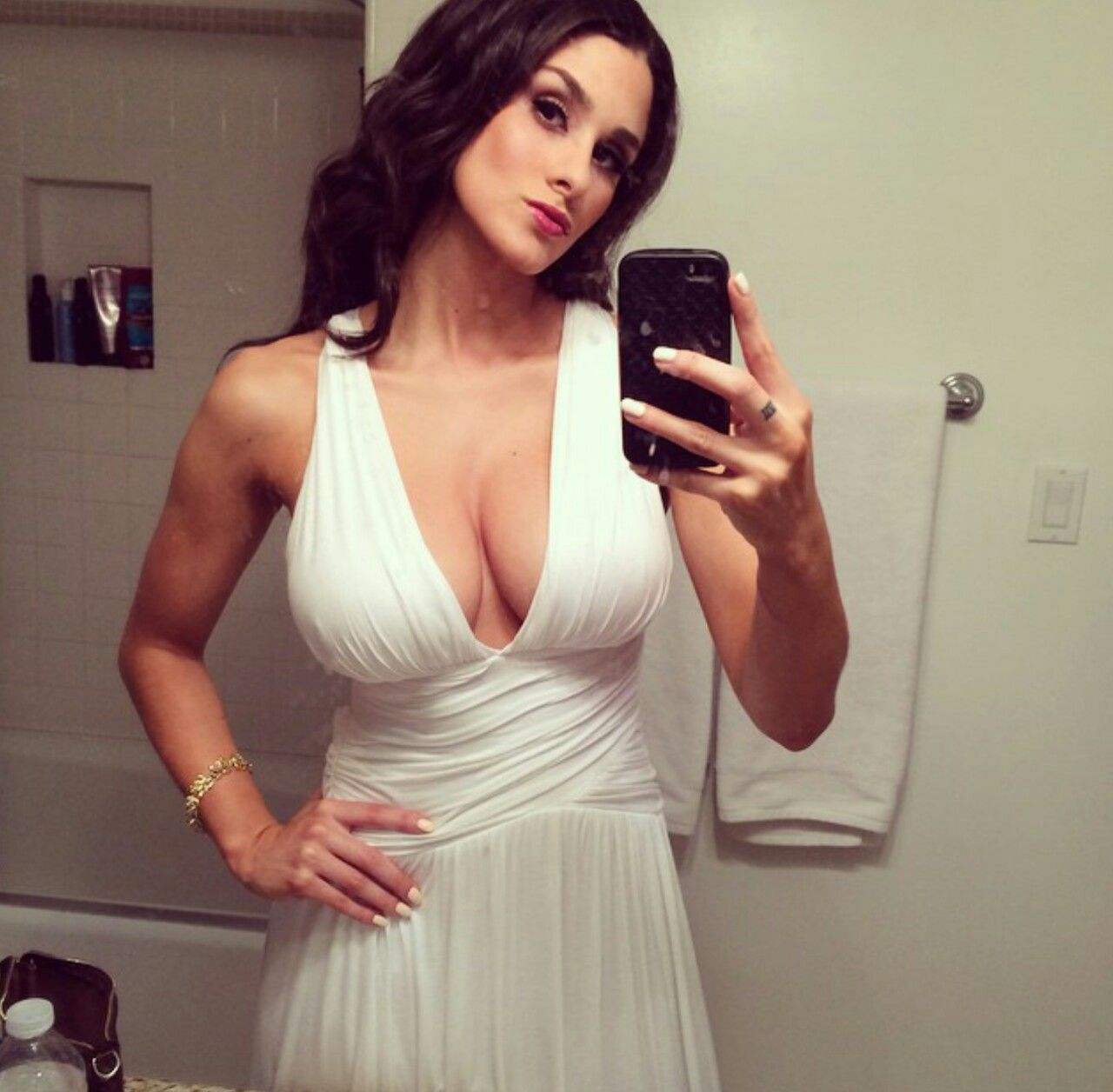 Brittany Furlan Hot In White