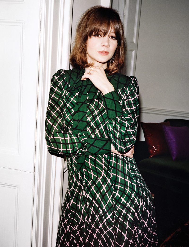 Carey Mulligan Hot in Green