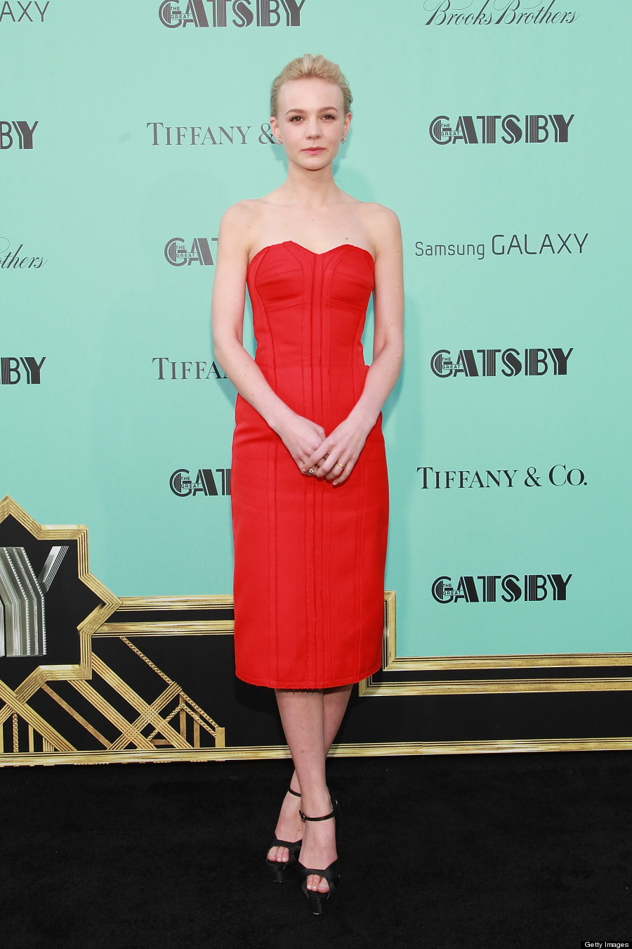 Carey Mulligan Hot in Red