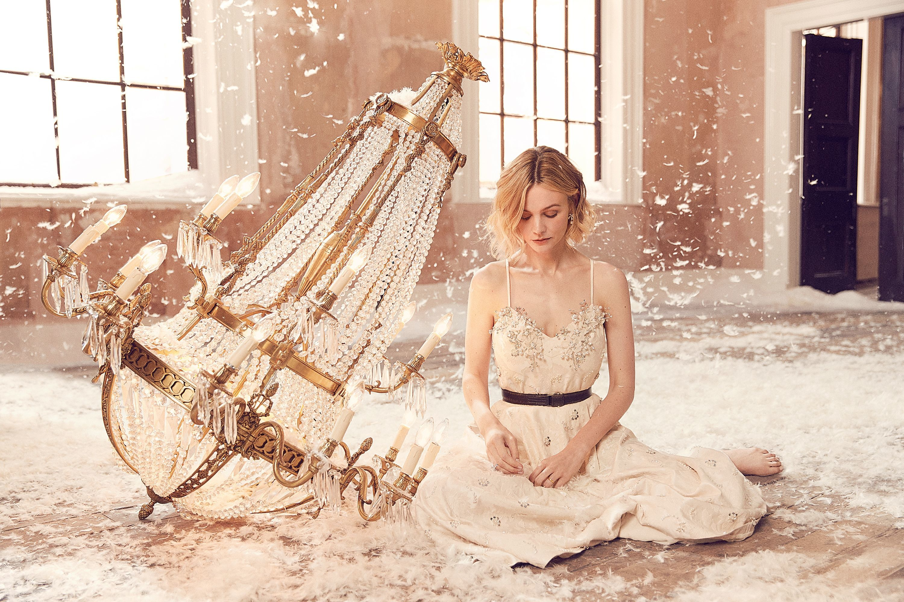 Carey Mulligan on Photoshoot
