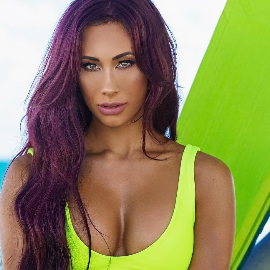 Carmella cleavage photo