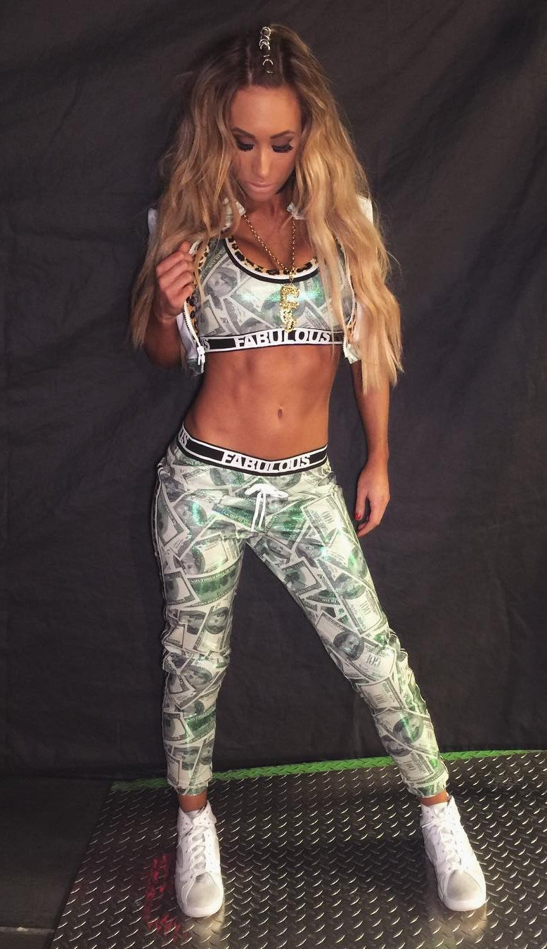 Carmella hot look
