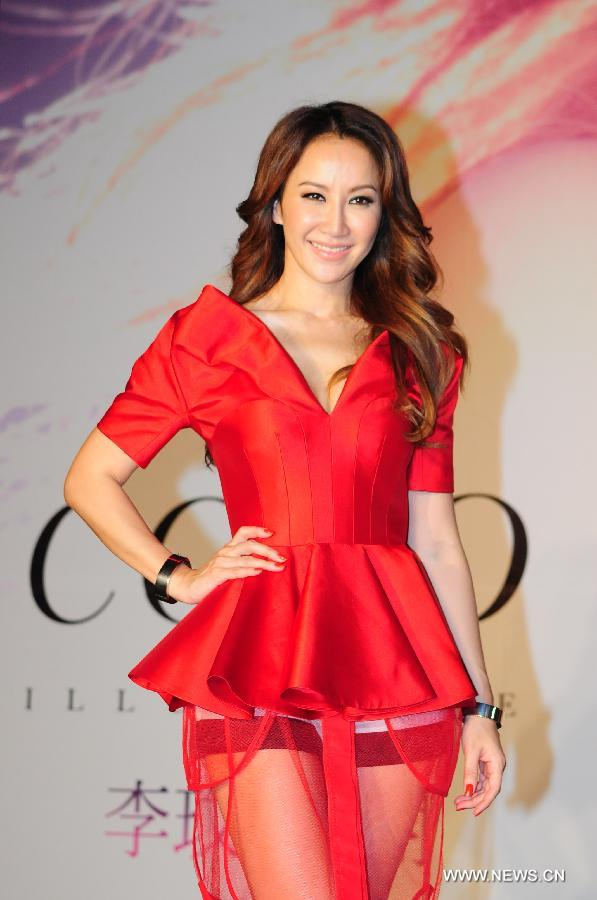 Coco Lee Hot in Red