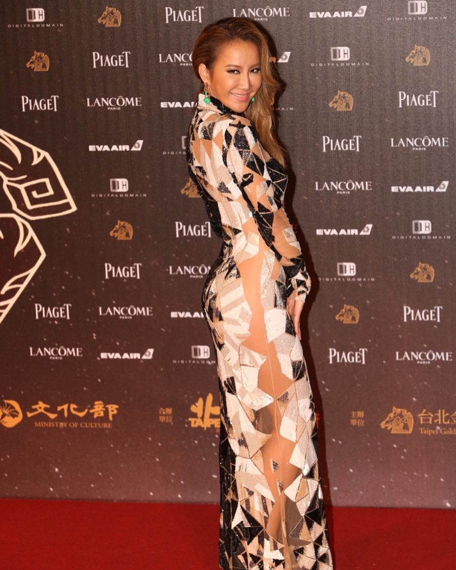 Coco Lee on Piaget Shows