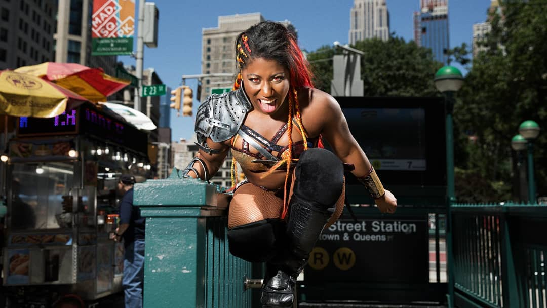 Ember Moon awesome pic
