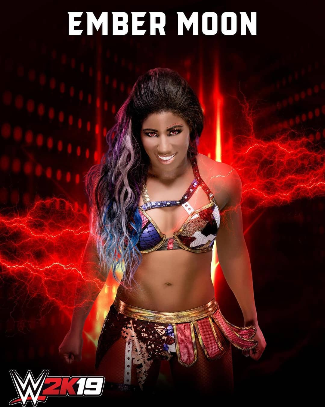 Ember Moon awesome pictures