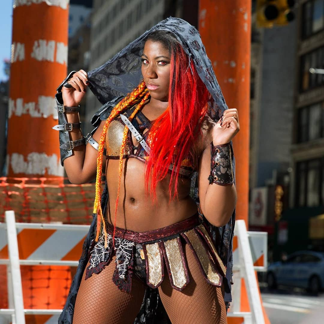 Ember Moon awesome