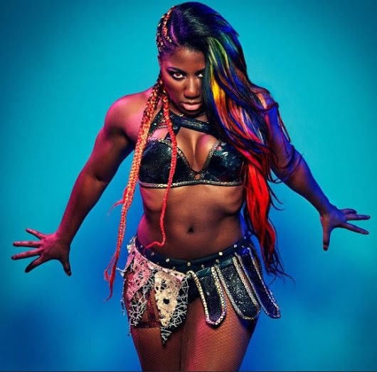 Ember Moon hot thigh sexy
