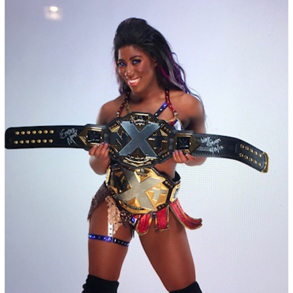 Ember Moon thighs hot