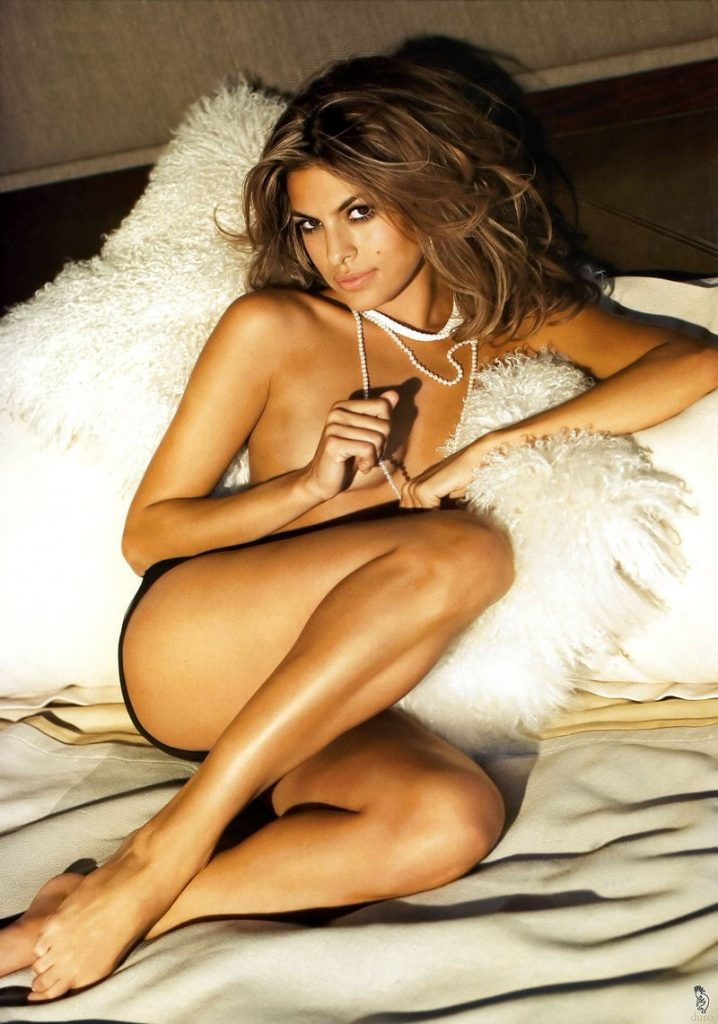 Eva mendes i'd rather go naked picture