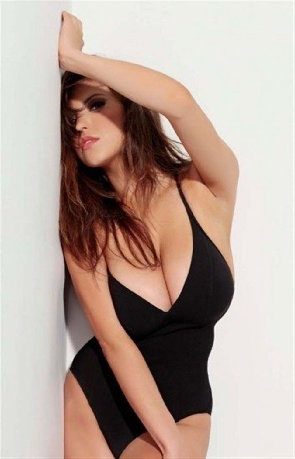 Francoise Boufhal Hot in Black Lingerie