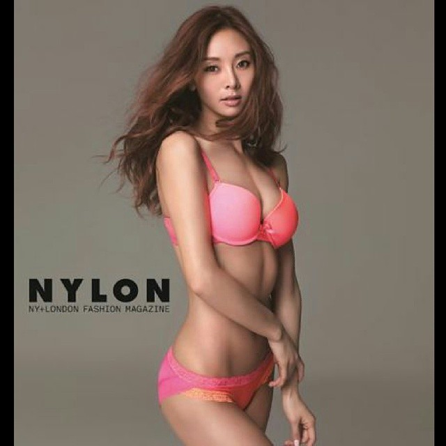 G NA K Hot in Pink Bikini