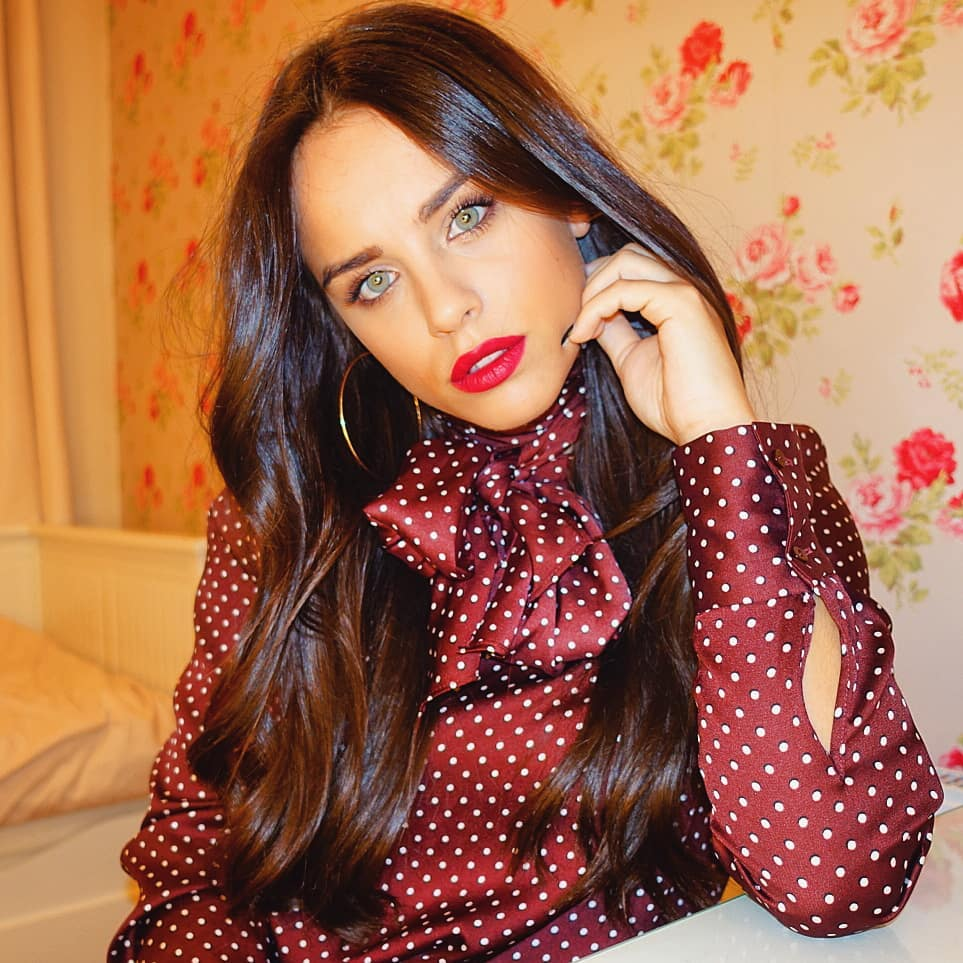 Georgia May Foote Red Lips