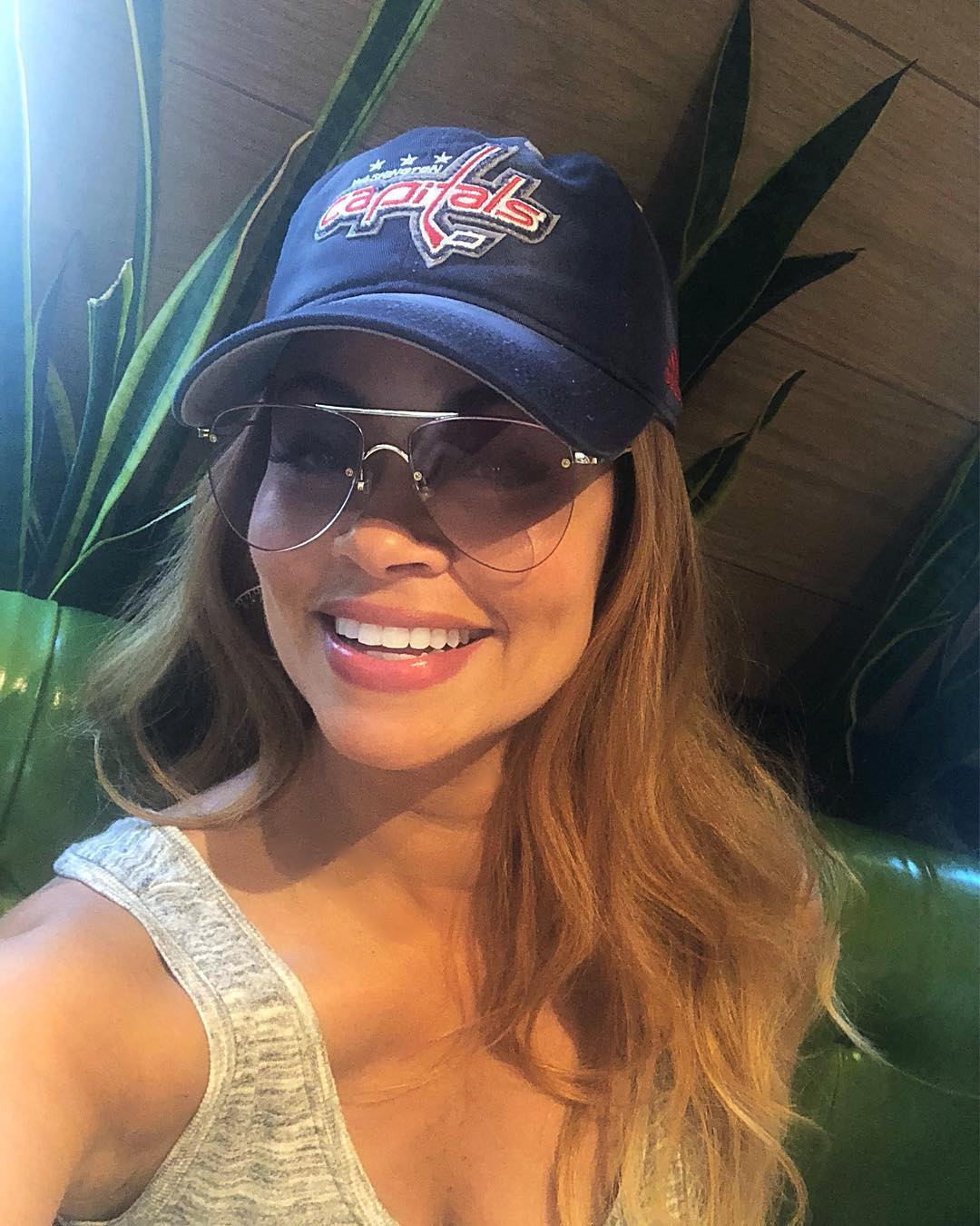 Gizelle Bryant Hot wearing Cap