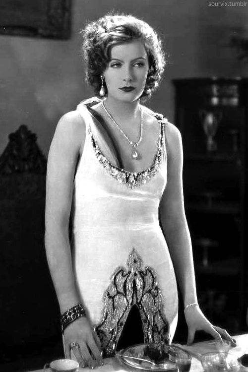 Greta Garbo hot busty pic