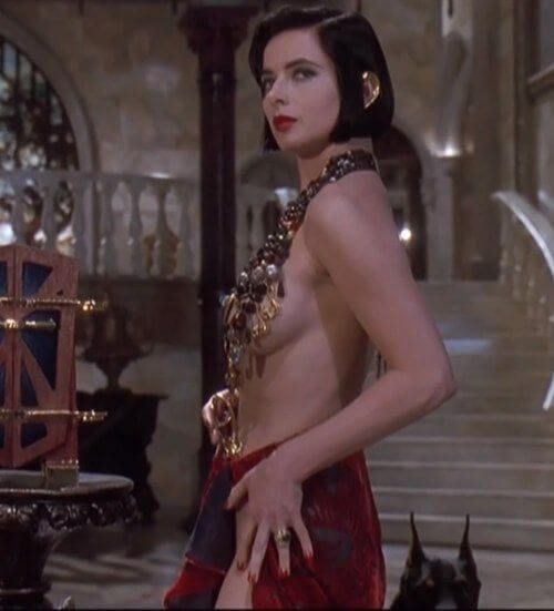 Isabella Rossellini hot cleavage