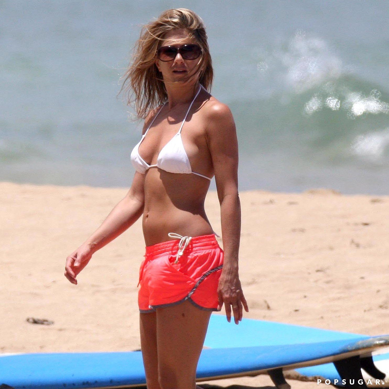 Jennifer Aniston white bikini