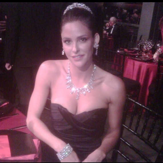 Jill Wagner on Party