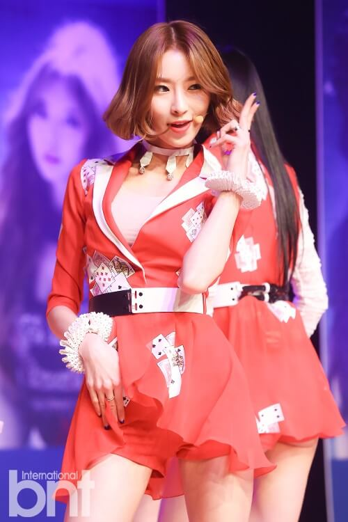 Jiyul – Dal Shabet hot red look