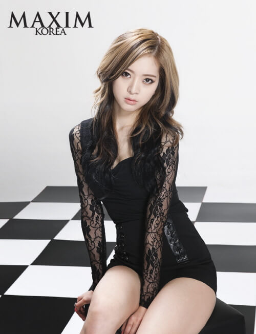 Jiyul – Dal Shabet sexy black dress