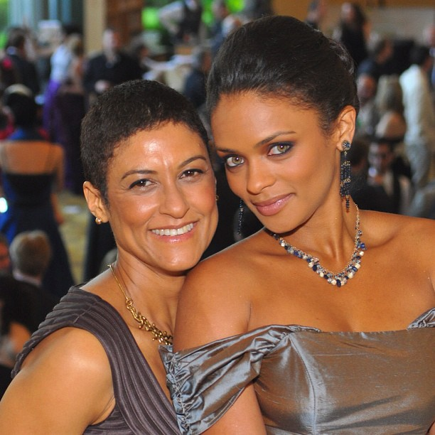 Kandyse McClure with Friend