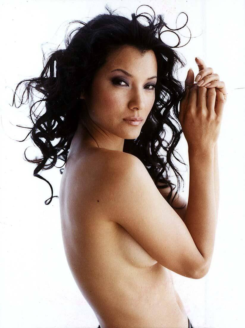 Kelly Hu sexy topless pic