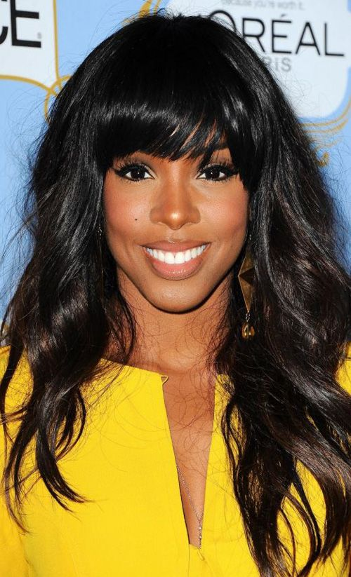Kelly Rowland Hot in Yellow
