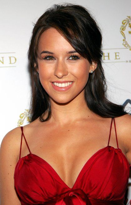Lacey Chabert hot in red